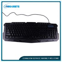 Red led keyboard ,h0tch mini ultra-thin wireless bluetooth keyboard for sale