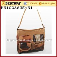 Leather fashion handbags/ hand tooled leather handbag/oe leather handbag
