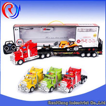 4ch rc tractor trailer toy trucks with light