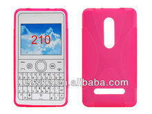 Mobile Phone Rubber Cover For Nokia Asha 210