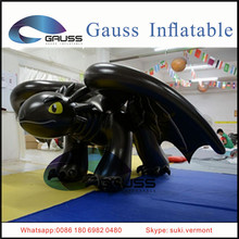 giant inflatable toothless dragon/inflatable black dragon
