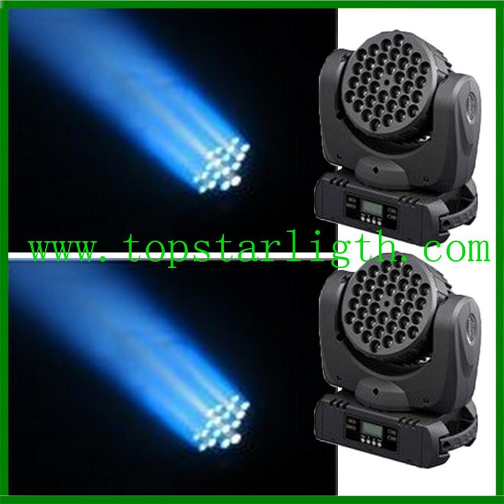 Bar and night club decoration RGBW 36*<strong>3w</strong> <strong>led</strong> beam wash moving head cheap stage lighting wholesale online