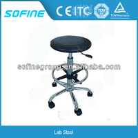 Factory Height adjustable Stainless Steel Lab Stool