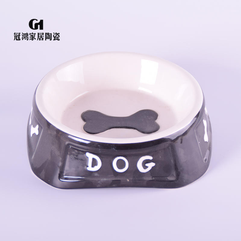 Ceramic dog food bowls,ceramic pet food storage,Ceramic dog food storage containers,Hot Sales