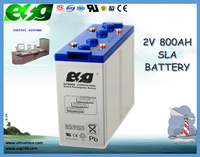 OED|ODM industry 2v800ah solar system agm battery