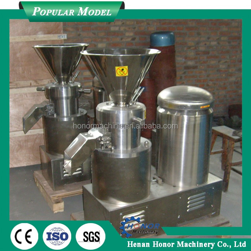 stainless steel industrial cocoa processing machine for making butter