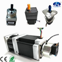 Geared stepper motor with different reduction ratio, CE and ROHS approved