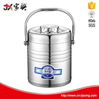2016 take easy stainless steel round lunch box food container