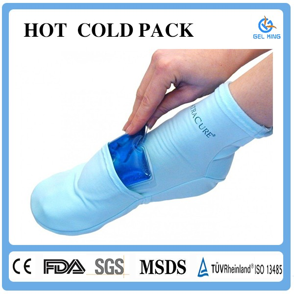 Sport Injury Personal Foot Massager Care Gel Cold And Hot Pack
