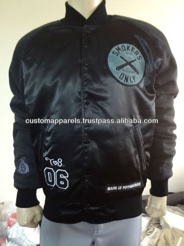 custom sublimated jacket with 100% polyester