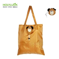 Promotion Eco Friendly Large Black Shopper Reusable Carrier Bio Degradable Shopping Recycle Bag In Bulk