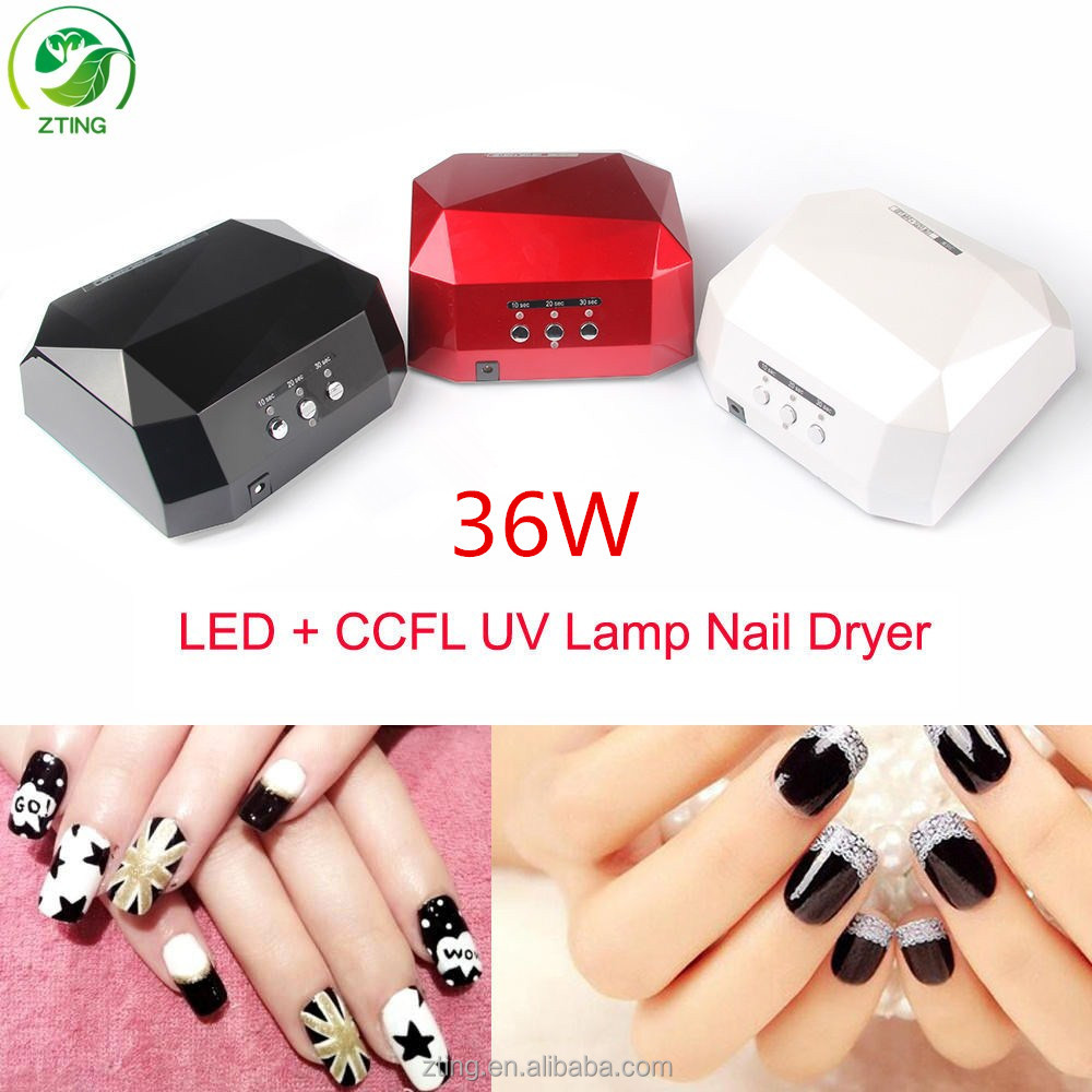 Hot!2016 popular factory <strong>price</strong> wholesale 36w high quality professional diamond nail uv lamp for gel nail polish,uv led nail lamp