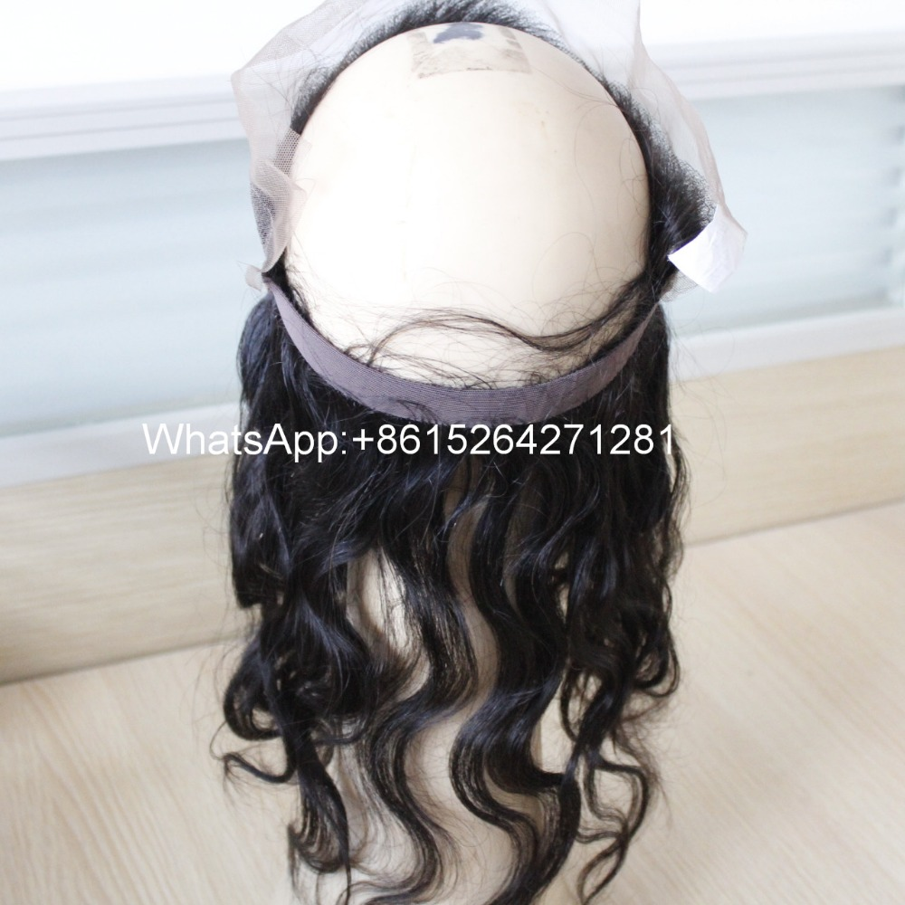 Hot selling now fengyingxiu hair lace frontal with 360 lace band