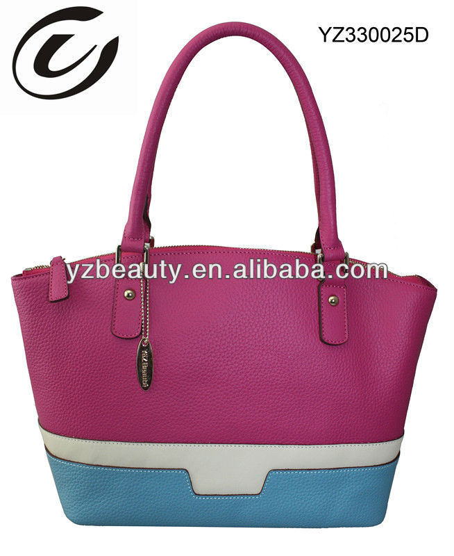 Fashion women custom leather handbags