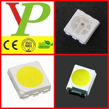 0805/0603/5730/3528/5050 white multicolor led smd