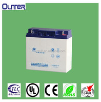 12v 17ah AGM deep cycle battery for UPS