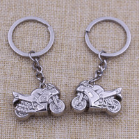 Promotion gifts custom metal motorcycle shaped key chain