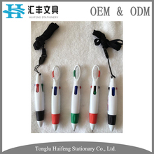 Multi color refill plastic mini stylus ball pen for promotion