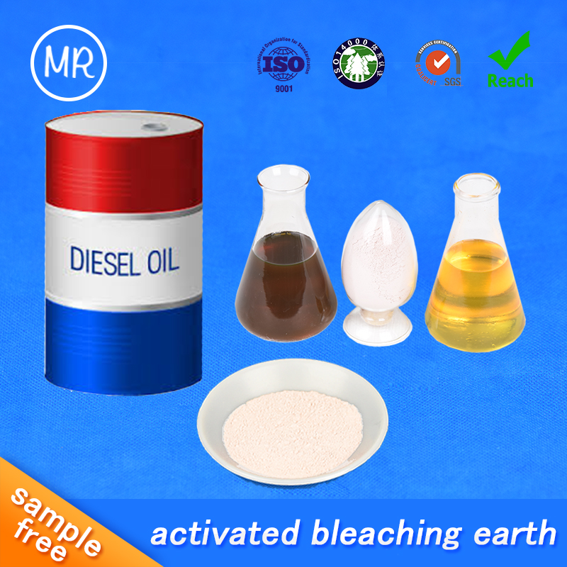 high quality activated bleaching earth attapulgite clay powder for industrial oil