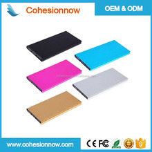 Rechargeable 4000mah slim credit card portable powerbank Mini Power Bank
