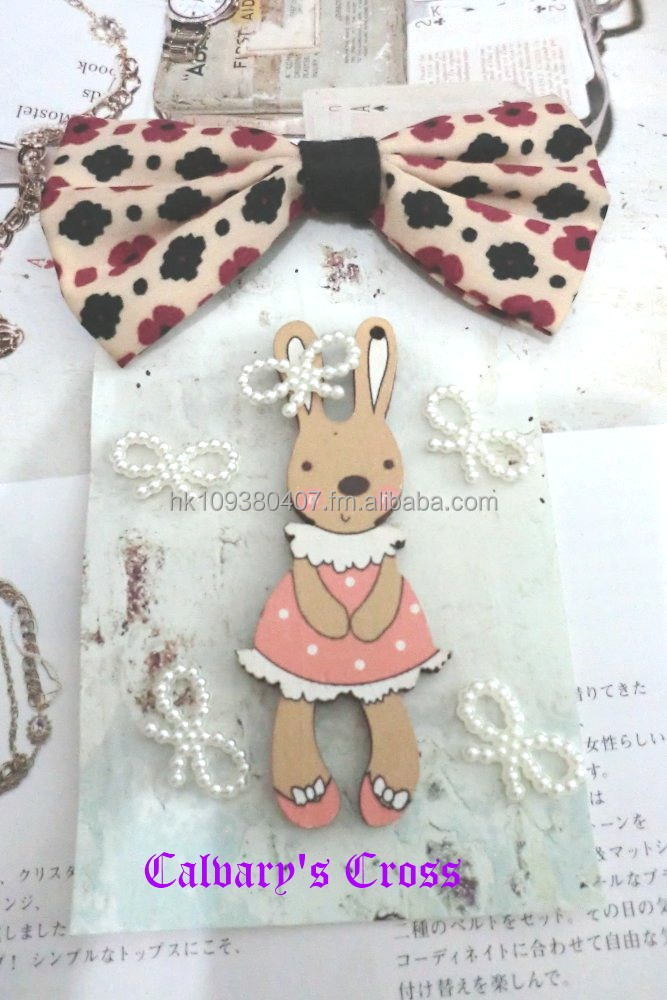 Big Lovely Pink Rabbit Girl Bow Fashion Phone Case Phone
