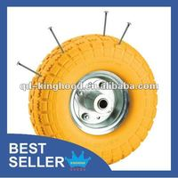 PU Foam Trolley Wheel Puncture Proof Tire