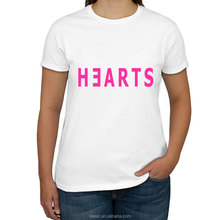 Custom Cotton Ladies Cut T shirt with Printed Logo