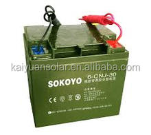 12V 150AH Deep-Cycle Sealed Lead-Acid Gel Battery with Solar Street Light