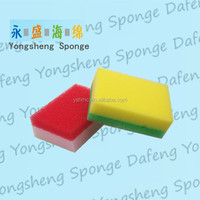 China colorful kitchen cleaning sponge