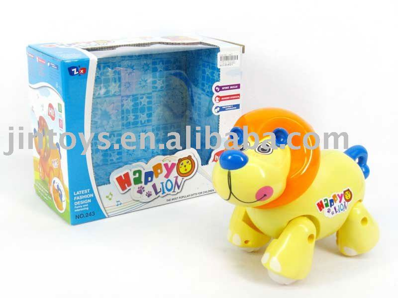 b/o toy,Battery operated lion toy With Music,with EN71,EN62115
