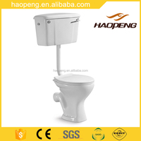 Ceramic Washdown Water Closet/Bathroom Toilet Commode/Two Piece Toilet WC