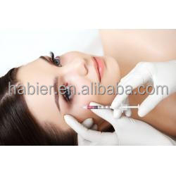 Habier cross-linked hyaluronic acid gel injection/injectable sodium hyaluronate dermal filler