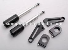 For GSX 1400 no fairing cut carbon fiber Frame Sliders Motorcycle Slider Hot sale