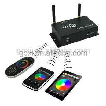 WIFI100 DC5-24V360w rgb led wifi remote controller to connect phone