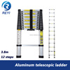 Aluminum Telescopic Ladder 3 8m