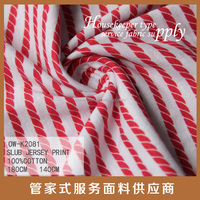 supplier yarn dyed stripe single jersey knit fabric waffle knit fabric thermal waffle knit fabric