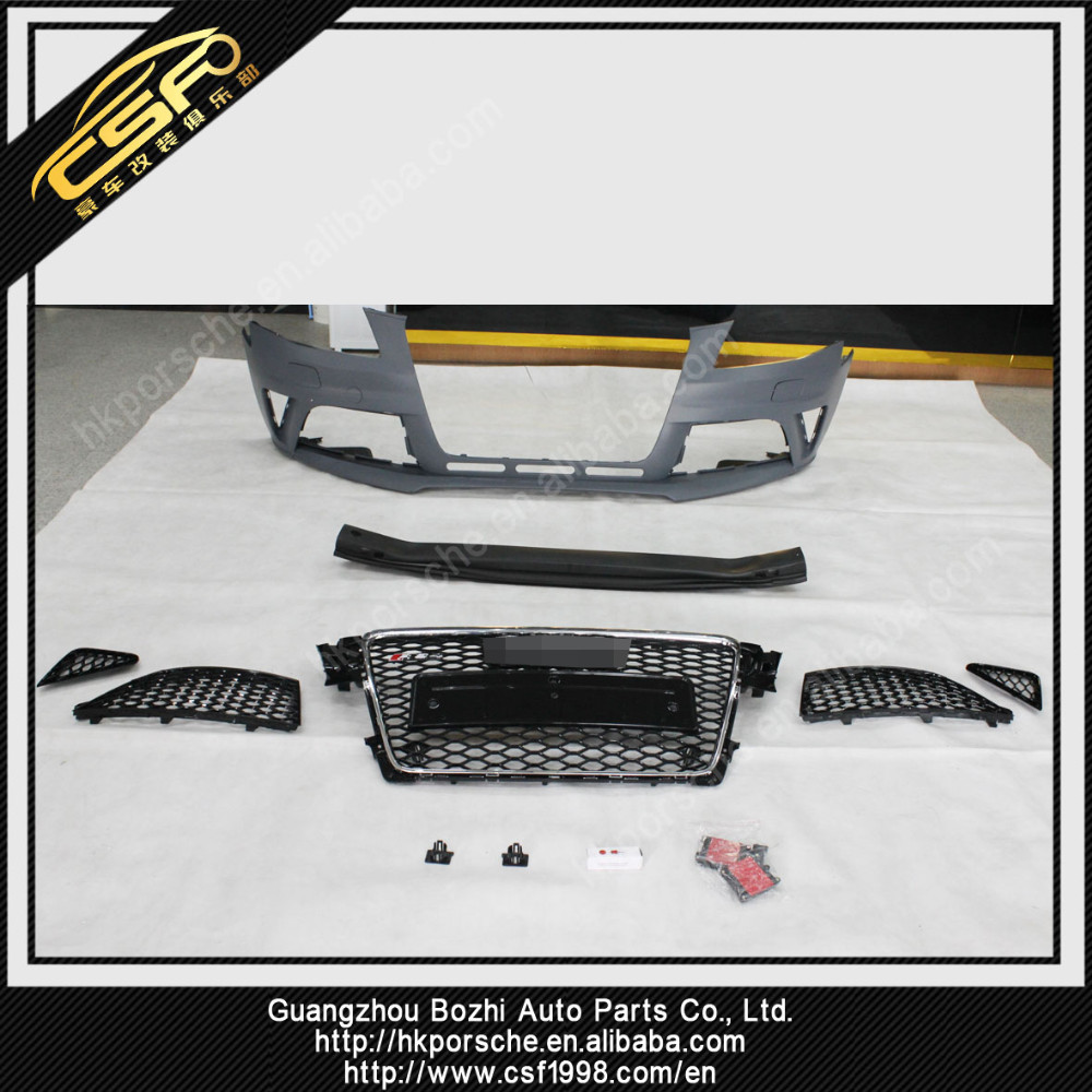 PP Material RS4 Body Kits For A4L Body Kit/Bumper 2009-2011