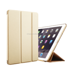Ultra-thin Magnetic Smart for ipad air2, 360 protective leather case for ipadair 2 with stand