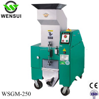 cost of plastic recycling machine WSGM-250/3HP