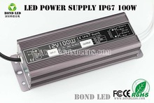 Led power supply 20W 30W 40W 50W 60W 80W 100W 150W 200W 250W IP 67 waterproof driver