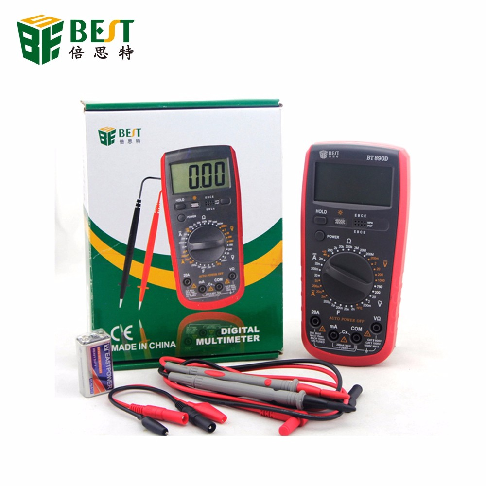 Great Quality Shock protection multimeter true rms