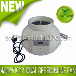 Quiet Hydroponic Inline fan flexible fan blower ventilation fan