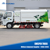 China new condition hot type sweeper truck 4X2 for sale