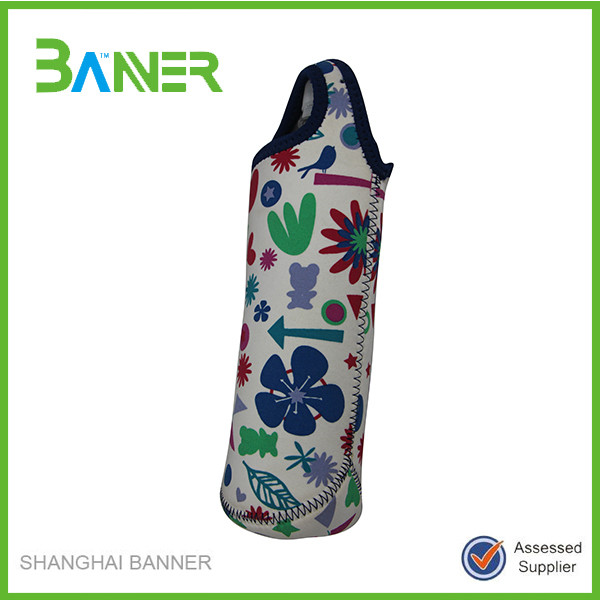 High quality factory price holder neoprene water bottle thermal bag