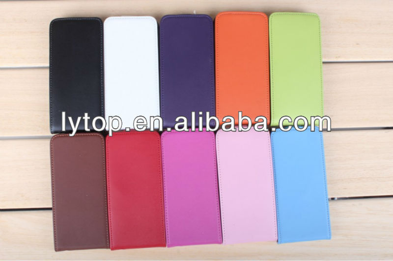 for Iphone5 Flip Leather Power Case