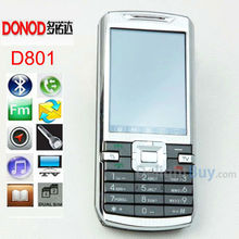 Unlocked Original Cheap Mobile Phone 2.4 inch touch screen DONOD D801 Bluetooth MP3 Video FM Radio.low end phone