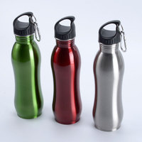 Manufacturers stainless steel sports bike h2o water bottle