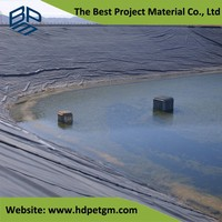 Geomembrane HDPE Pool Liner and Aquacultur Plastic Fish Tank Lining