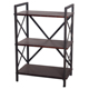 Living Room 3 Tiers Shelves Portable Movable Small Narrow Wooden Book Shelf For Sale