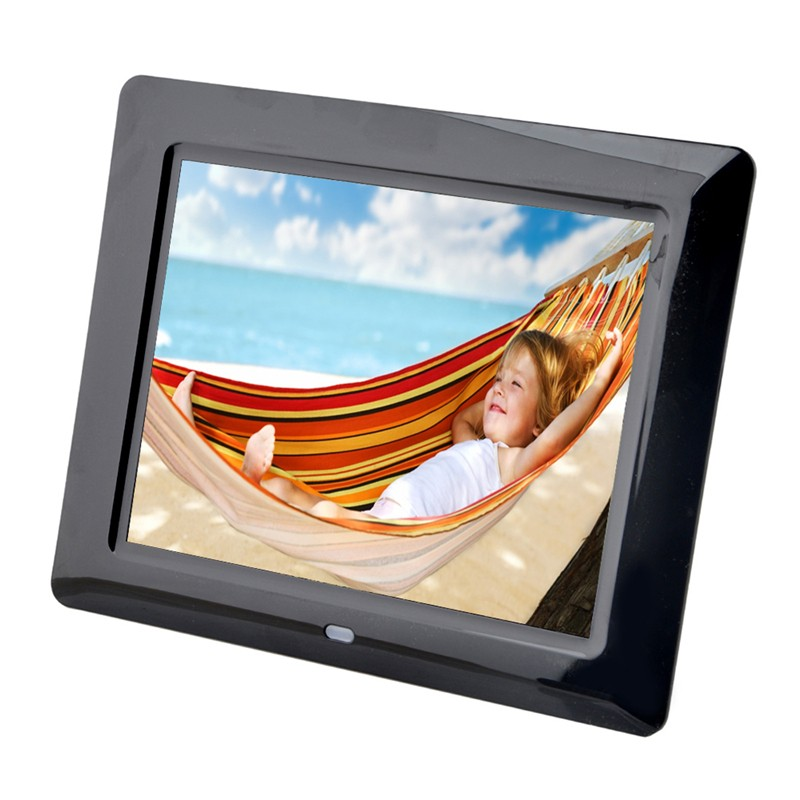 High definiton 8 inch digital picture frames with IR full-function